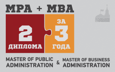 Master of Public Administration + Master of Business Administration