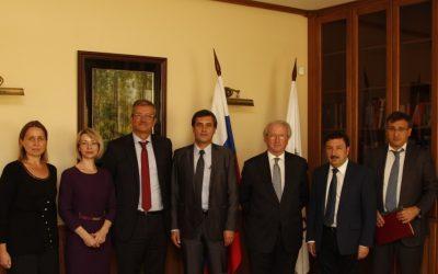 Визит Посла Королевства Испании в Академию