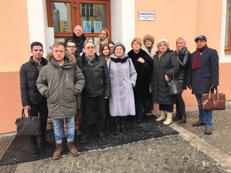 Магистранты программы «Экономическая политология» ИГСУ прошли стажировку в Праге