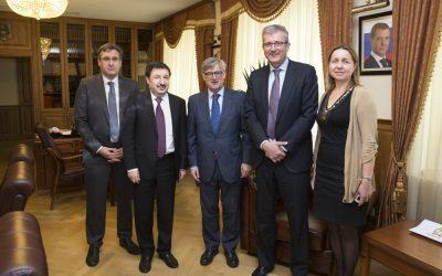 Неделя ИГСУ: лекция посла Испании в России Игнасио Ибаньеса