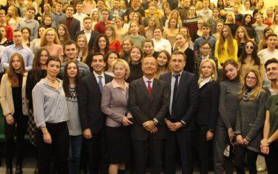 В ИГСУ прошла открытая лекция экс-министра иностранных дел Италии, президента Института Евразийских исследований Франко Фраттини