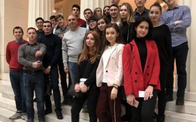 Профессор Краковский провел экскурсию в ГМИИ им. А.С. Пушкина