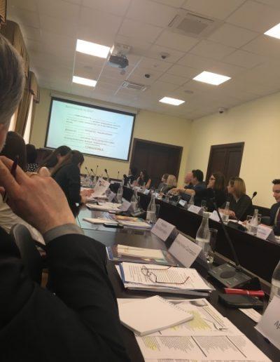 Магистранты направления «Зарубежное регионоведение» на круглом столе «Проблемы Евразии: от теории к практике»