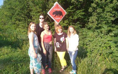 Прошла рабочая поездка команды проекта WildCamp в Национальный парк «Башкирия»