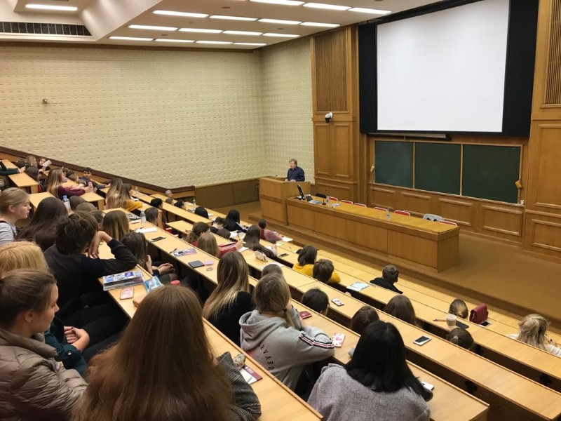 Мастер-класс Александра Верина на факультете журналистики ИГСУ