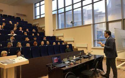 Директор ИГСУ Игорь Барциц прочел лекцию о Конституции студентам МВА и МРА