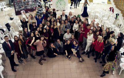 Новогодний бал факультета журналистики ИГСУ
