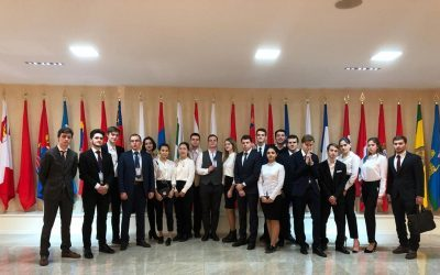 Студенты ИГСУ ―  организаторы мероприятия в Совете Федерации