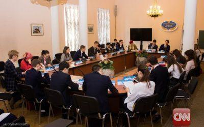 Модель ООН: интернациональная команда студентов факультета международного регионоведения и регионального управления