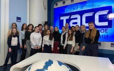 ТАСС рассказал о новых программах Факультета журналистики ИГСУ