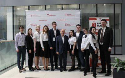 Студенты факультета международного регионоведения и регионального управления на Межрегиональной деловой конференции в Торгово-промышленной палате Московской области