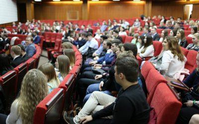 Студенты Факультета государственного управления экономикой подвели предварительные итоги учебного года