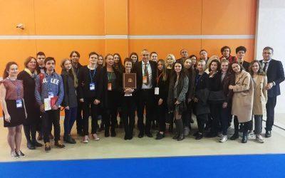 Студенты факультета международного регионоведения и регионального управления на Московском международном салоне образования (ММСО)