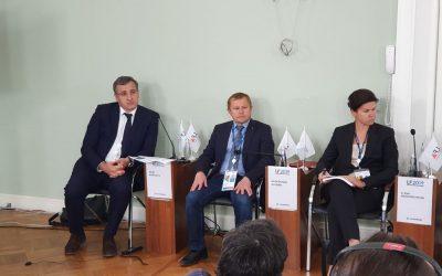 Директор ИГСУ Игорь Барциц представил на Петербургском форуме совместный доклад РАНХиГС и АЮР