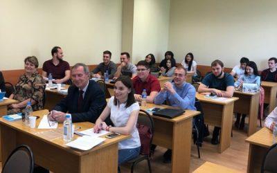 """Заседание студенческой секции """"Современное государственное управление: люди и технологии"""""""