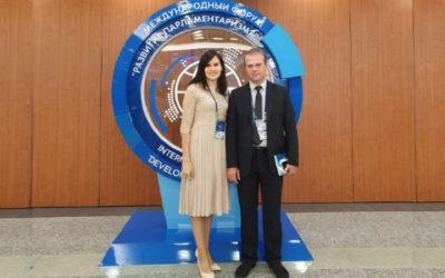 Доцент ИГСУ Александр Соловьев принял участие в работе Международного форума «Развитие парламентаризма»