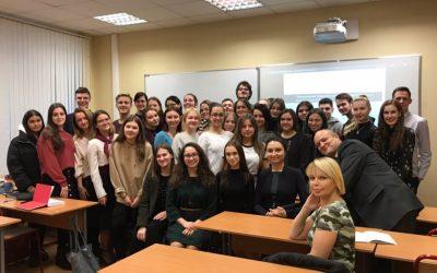 Елена Кузьменко выступила с интерактивной лекцией в школе региональных и международных исследований (SCHOOL-RIS)