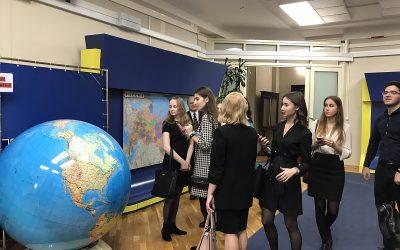 Историю и структуру Государственной Думы изучили студенты факультета международного регионоведения и регионального управления