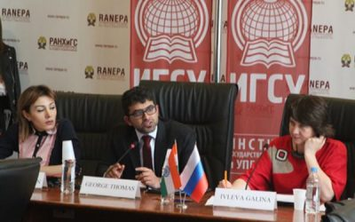 Roundtable on Russian-Indian cooperation at Presidential Academy