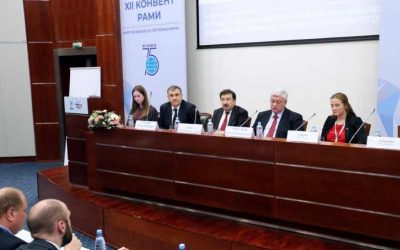 Vladimir Mau speaks at ALU/Trianon Dialogue conference at MGIMO University