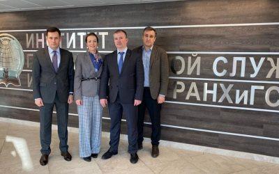Прошла встреча руководства Ассоциации юристов России и ИГСУ РАНХиГС