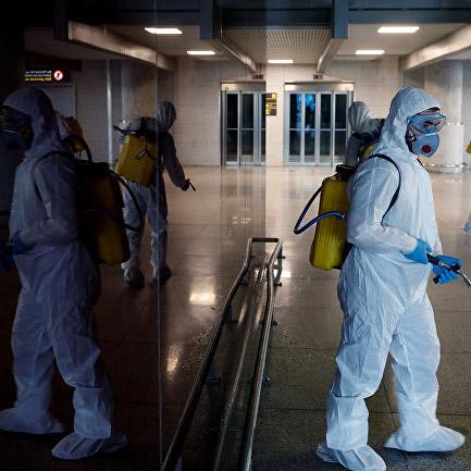 Организационные и правовые практики решения проблемы распространения коронавируса уровне субъектов РФ