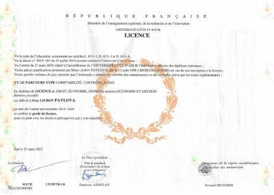 sertifikat Pavlova